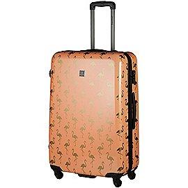 Saxoline Golden Flamingo 4-Rollen Trolley 68 cm Produktbild