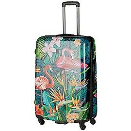 Saxoline Exotic Flamingo 4-Rollen Trolley 68 cm Produktbild