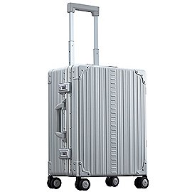 Aleon Carry-On 4-Rollen Kabinentrolley mit Kleidersack 53 cm Produktbild