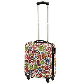 Check In Flower 4-Rollen-Kabinentrolley 55 cm Produktbild