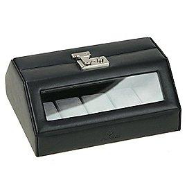 Windrose Nappa Uhrenkoffer aus Leder Produktbild