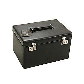 Windrose Ambiance Schmuckkoffer / Uhrenkoffer 3 Etagen aus Leder Produktbild