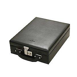 Windrose Ambiance Safekoffer für Schmuck aus Leder Produktbild