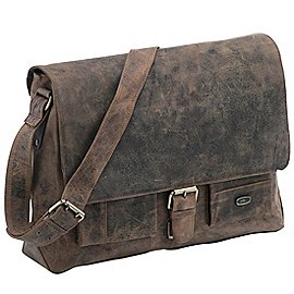 Harolds Antik Messenger Bag aus Leder 39 cm Produktbild