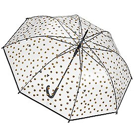 Happy Rain Essentials Emoticons Transparent Long AC Regenschirm 86 cm Produktbild