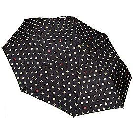 Happy Rain Essentials Emoticons Mini AC Regenschirm 28 cm Produktbild