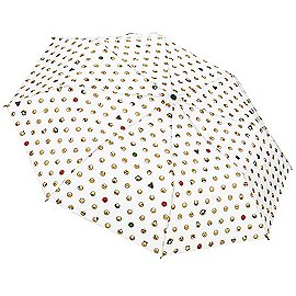 Happy Rain Essentials Emoticons Mini AC Regenschirm 28 cm Produktbild
