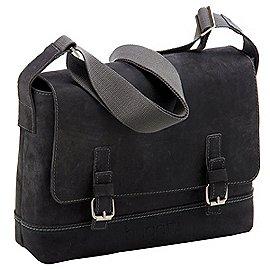 Bugatti Kensington Messenger Bag aus Leder 38 cm Produktbild
