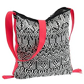 Chiemsee Sports & Travel Bags Black & White Umhängetasche 40 cm Produktbild