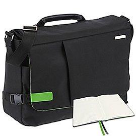 Leitz Complete Smart Traveller Messenger 38 cm inkls. Leitz Notizbuch A5 kariert Produktbild