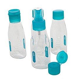 Design Go Reisezubehör Cabin Bottles Flugsicherheitsbeutel mit Flaschen Produktbild