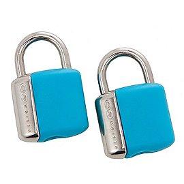 Design Go Reisezubehör Glo Key Locks Vorhängeschlösser mit Schlüssel 2er Set Produktbild