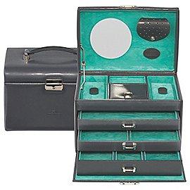Windrose Merino Schmuckkoffer 4 Etagen 24 cm Produktbild