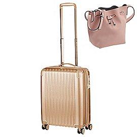 Titan Barbara Glint 4-Rollen Kabinentrolley 55 cm & Pure Bucket Bag Set Produktbild