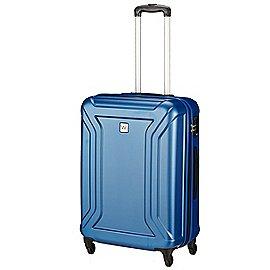koffer-direkt.de Wagner Luggage Barracuda 4-Rollen-Trolley 67 cm - blue