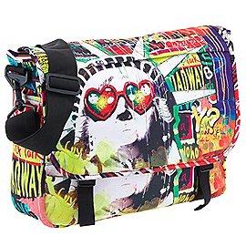 Y NOT? Pop Messengerbag mit Laptopfach 40 cm Produktbild
