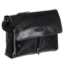 Piquadro Blue Square Messenger Bag mit Laptopfach 37 cm Produktbild