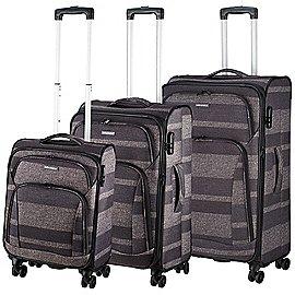 koffer-direkt.de Two Travel II 4-Rollen-Trolley Set 3-tlg. Produktbild
