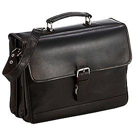 koffer-direkt.de Luxury Laptop-Aktenmappe 3-Fächer 41 cm Produktbild