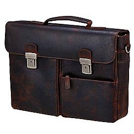 koffer-direkt.de Prato Hunter Elba Aktentasche mit Laptopfach 41 cm Produktbild