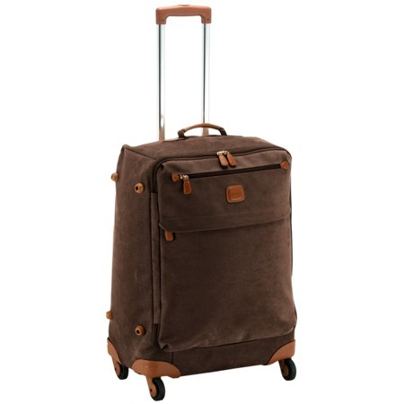 Life 4-Rollen-Trolley 65 cm - dark brown/tobacco Bric's