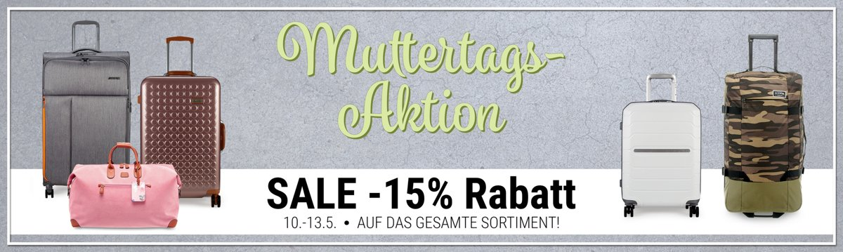 Muttertags-Rabattaktion